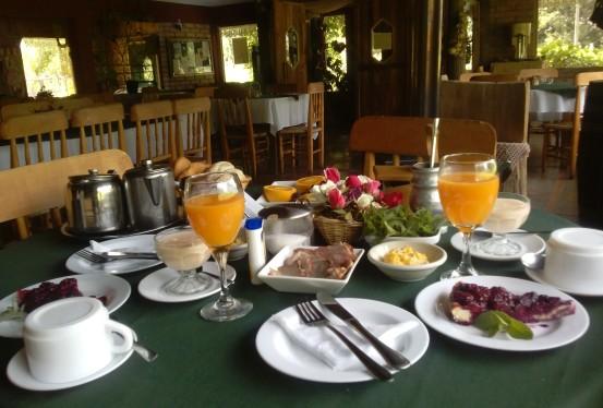 desayuno Lo vilches